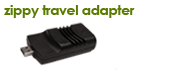 VoIP Retail Combo Box - Zippy Travel Adapter