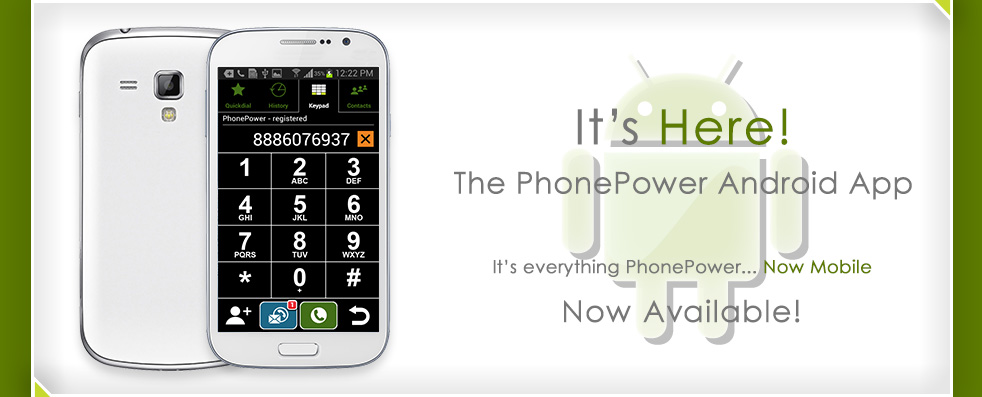 The Phone Power Android App Is Now Available